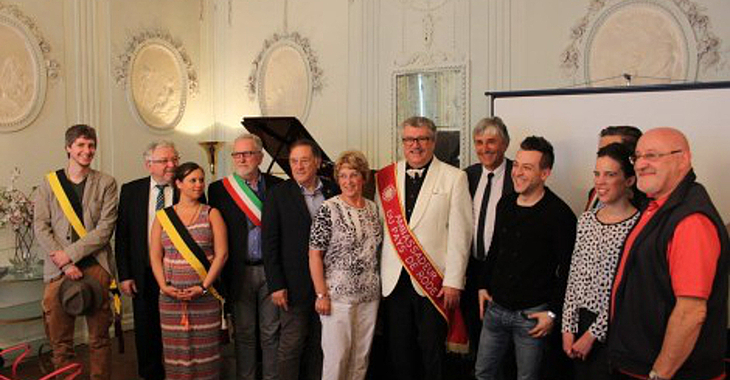 "Internationales Symposium ""Les plus Beaux Villages de la Terre"" in der Ambassade"